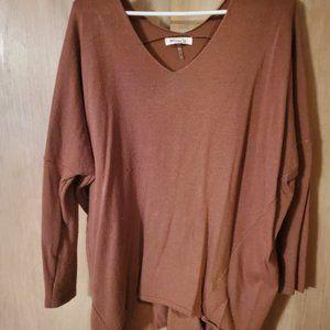⭐ Brown dolman sleeve sweater
